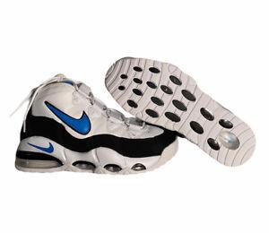Nike Air Max Uptempo 95 White Photo Blue Black CK0892-103 Retro Mens Size 8