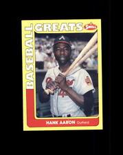 1991 Swell Baseball Greats #102 Hank Aaron (Q)