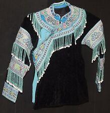 CHILD VINTAGE HMONG Fabric VEST jacket OLD antique TRIBAL Hippie Thailand cloth