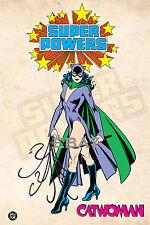 1988 Super Powers CATWOMAN Model Art : Justice League Batman