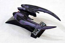 2006 Hasbro Titanium Diecast Battlestar Galactica Cylon Raider Ship w/ Stand