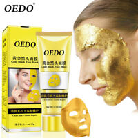 24K Gold Collagen Facial Face Mask Moisture Anti Aging Remove Wrinkle Care