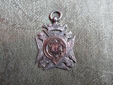 Silver Fob -- R.N.V.R -- N.C.C -- 1916 -- WW1 / Military / Navy / Non Combatant