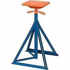 """Brownell Boat Stands MB1 SET OF 4 Painted with Tops, Height 33"""" - 50"""" New"""