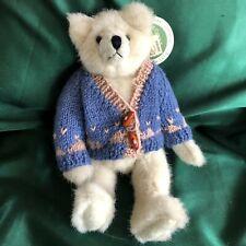 """Mary Meyer Green Mountain Bears By Carol Carini- 10"""" Bolton"""