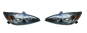 *NEW* HEAD LIGHT LAMP (BLACK) SUIT TOYOTA CAMRY CV36 SPORTIVO 2002 - 2004 PAIR