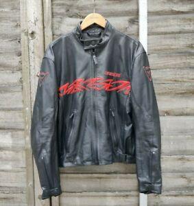 Dainese Moto Collection Leather Motorbike Jacket Sz 50