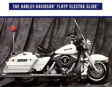 1992 HARLEY-DAVIDSON FLHTP POLICE ELECTRA GLIDE MOTORCYCLE BROCHURE -FLHTP
