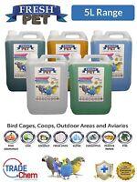 5L FRESH PET Bird Specialist Disinfectant, Cage Cleaner, Aviary Deodoriser