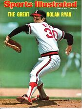 1975 6/16 Sports Illustrated,Baseball magazine,Nolan Ryan,California Angels~GLR