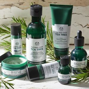 The Body Shop | Tea Tree | Face Body Hand Scrub Solution Lotion Mask | Brand New