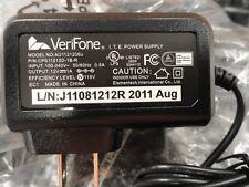 Verifone 12V Power Supply Mod.# AU1121206u, P/N CPS11212D-1B-R, NEW