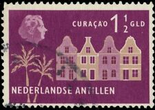 NETHERLANDS ANTILLES 255 (Mi83) - Colonial Buildings, Curacao (pa84862)