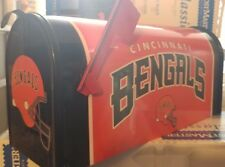 CINCINNATI BENGALS THROWBACK CUSTOM MAiLBOX~jersey hats