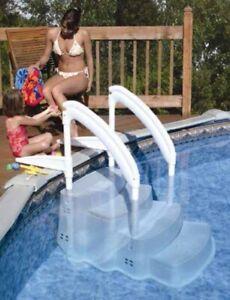 Pool Einbautreppe - Leiter Schwimmbad Treppe Leiter Einstiegshilfe für Pool