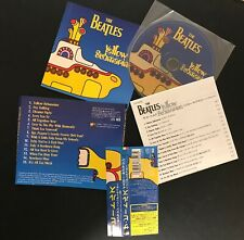 """THE BEATLES """"Yellow Submarine Songtrack"""" Japan CD TOCP-65300"""