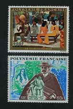 CKStamps: France Stamps Collection French Polynesia Scott#C98 C99 Mint H OG
