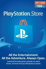 PlayStation Network card 100$