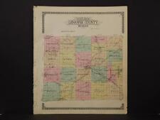 Michigan, Lenawee County Map, 1916  L3#21