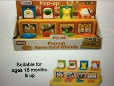 Fun Time Pop-up Farm Yard Animal Friends Colourful Learning Kids Activities