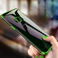 360° Full Cover Case Für Samsung Galaxy S8 S9 S9 Plus + & GLASFOLIE Hülle Tasche