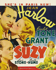 Suzy - 1936 - Jean Harlow Cary Grant George Fitzmaurice - Vintage Drama Film DVD