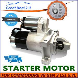Starter Motor for Holden Commodore Calais 5.7L V8 LS1 VT VX VY VZ SS 1999-2004