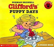 Clifford's Puppy Days Board Book