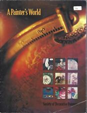 A Painter's World Decorative Tole Painting Book by various Artists
