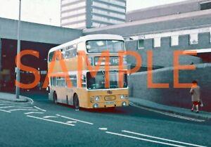 35mm slide Tyne & Wear PTE Leyland Fleetline / Alexander RCU831 S - 831 @ S/land