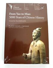 From Yao to Mao : 5000 Years Of Chinese History DVD & Guidebook 2004 NEW Sealed