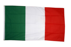 Italy National Country Flag - Large 5 x 3' - 100% Polyester Italian
