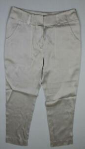 Brunello Cucinelli Women's Capri Pants Size 8 New