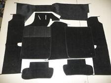 914 PORSCHE   Carpet Kit in BLACK  HAARGARN  Domestic carpet  1970-72