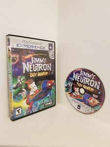 """Jimmy Neutron: Boy Genius """"Playstation 2 Experience version"""", PS2, Untested"""