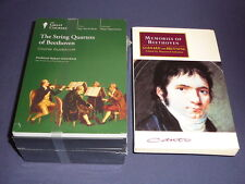Teaching Co Great Courses CDs       STRING QUARTETS of BEETHOVEN    new + BONUS
