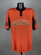 "Men's Majestic Cool Base San Francisco Giants ""Luke Strong"" Baseball Jersey XL"