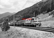PHOTO  ITALY - FS LOCO NO E633 027 NR BOLZANO AUG 87