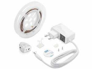 LED Stripe Rooflight Set 230V Motion Sensor + Dimmer Bed Shelf Furniture Light