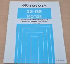 Werkstatthandbuch Toyota 3S-GE Motor Abgaskontrollsystem November 1993