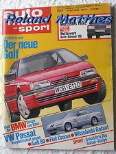 AMS 8-88+LOTUS ESPRIT TURBO+BMW M3/735+TOYOTA CELICA+SAAB 9000+AUDI 200+PASSAT