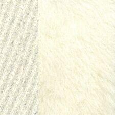 Schulte Alpaka dicht lang - Farbe: weiss - 25 x 47 cm - 18 mm Flor