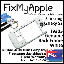 Samsung Galaxy S3 i9305 White Back Housing Frame Camera Lens Cover Replacement