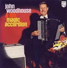 JOHN WOODHOUSE & His Magic Accordion 15TR CD 1988 Instrumental / PHILIPS label