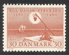 Denmark 1960 Lighthouse/Maritime Safety/Nautical/Transport/Ships/Sail  1v n37381