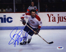Larry Robinson SIGNED 8x10 Photo Montreal Canadiens PSA/DNA AUTOGRAPHED