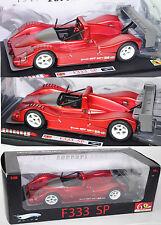 Elite L2975 Ferrari 333 SP, Modell 1994-2000, karminrotmetallic, 1:18, OVP