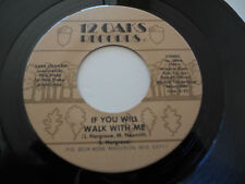 TARA GRAHAM VG++ If You Will Walk With Me 45 You Just Loved The Leavin Out Of Me