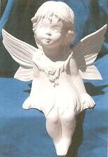 Shelf Sitting Fairy Ceramic Bisque U-Paint Mystical
