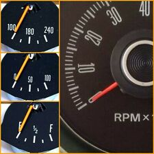 GAUGE PAINT SUIT XW XY GT GS DASH TACHO OIL FUEL TEMP GAUGES BRUSH NEEDLE TIP